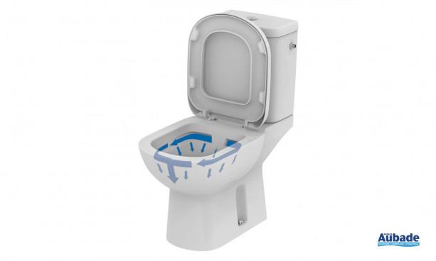 Toilettes Kheops sans bride d'Ideal Standard