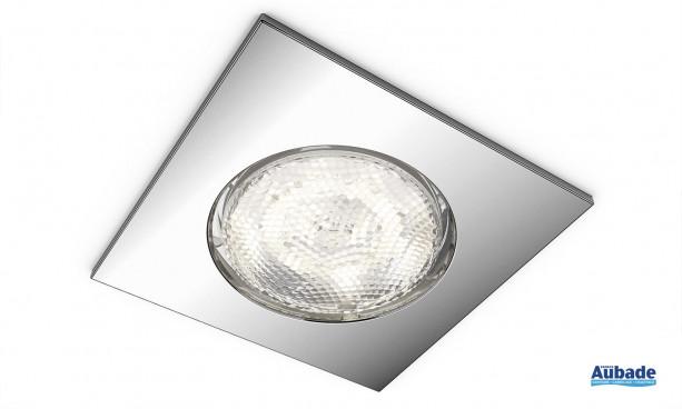 Plafonnier LED aluminium carré Dreaminess de Philips