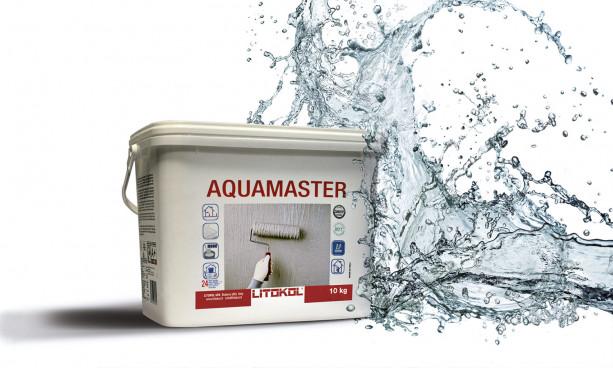 Mise en œuvre Sel monocomposant Aquamaster de litokol