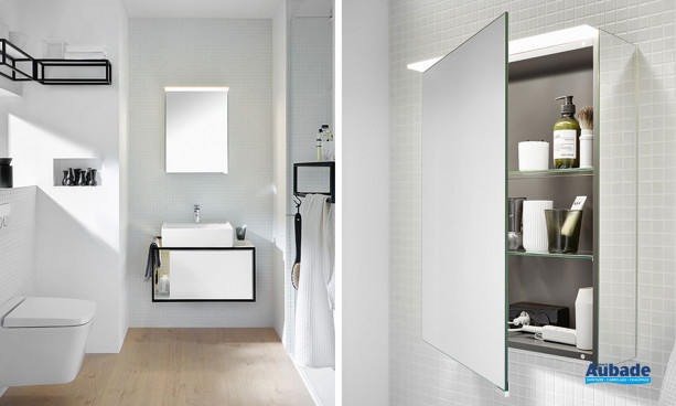 Meubles de salle de bains Junit coloris Blanc par Burgbad