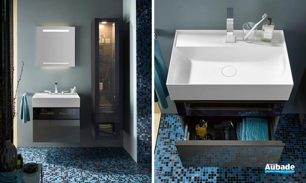 Meuble de salle de bains Yumo par Burgbad