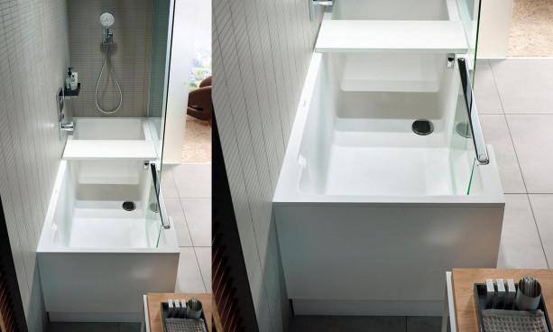 Combiné Bain-Douche Shower + Bath par Duravit 1