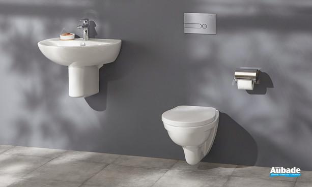 WC suspendu Patio sans bride blanc de Jacob Delafon