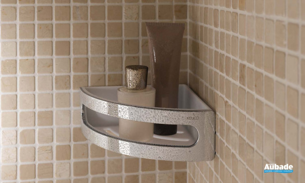 accessoire salle de bains keuco porte flacons angle elegance
