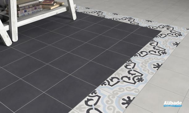 Carrelage noir Bati-orient Carreaux ciment