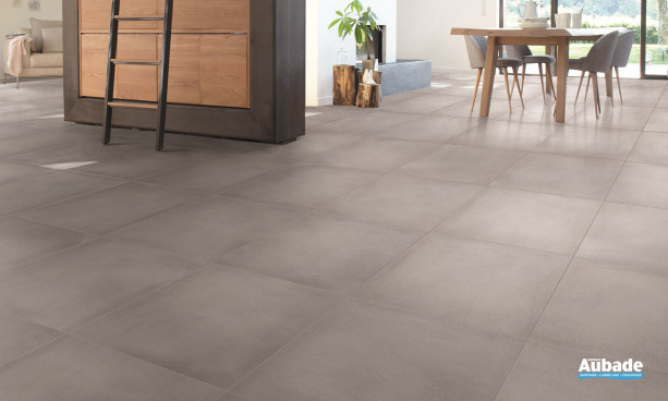 Carrelage gris Desvres ciment