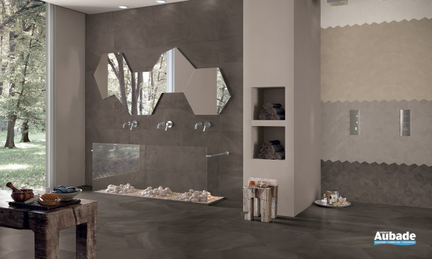 Carrelage brun_chocolat Ergon Architect  Resin