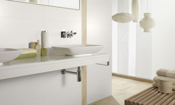 Collection Melrose par Villeroy & Boch en teinte white