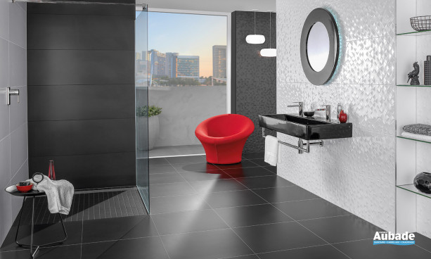 Carrelage blanc_ivoire Villeroy & Boch Monochrome Magic