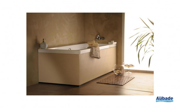 Revêtement baignoire beige