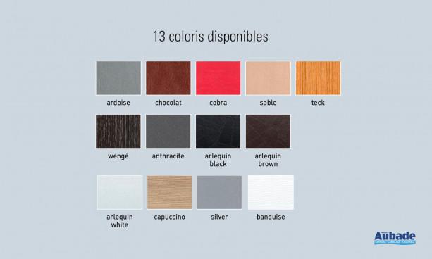 Revêtements baignoire colorés