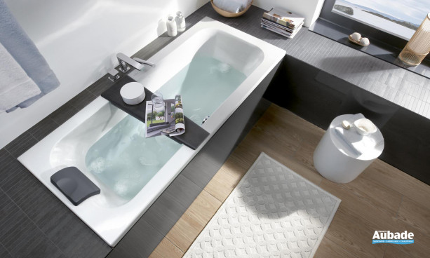 Baignoire design disponible en 22 modèles Villeroy & Boch Loop & Friend Square