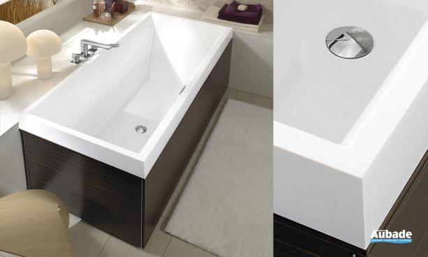 Baignoire rectangulaire design Squaro de VIlleroy & Boch