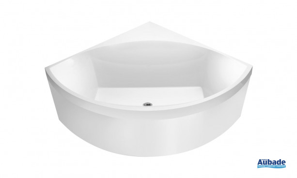 Baignoire d'angle  design Squaro de VIlleroy & Boch