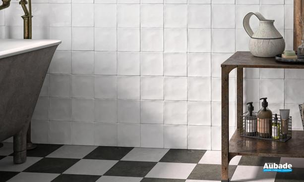 Collection Spatolato Wall par Barwolf en coloris Off White