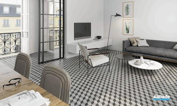 Collection  Inspiration Ciment par Bati-Orient en coloris Anthracite, Blanc Cassé, Gris Clair
