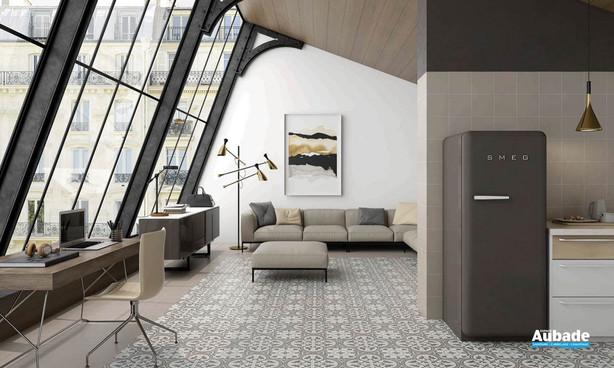 Collection  Inspiration Ciment par Bati-Orient en coloris Blanc Cassé, Gris Foncé, Gris Clair
