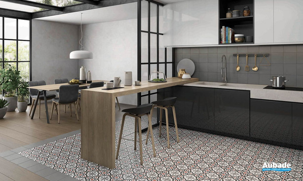 Collection  Inspiration Ciment par Bati-Orient en coloris Blanc, Gris Foncé, Anthracite, Rouge