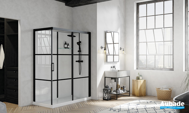 Cabine de douche Brooklyn Factory par Kinedo