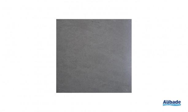 Carrelage grès cérame émaillé Tuzla en coloris gris foncé