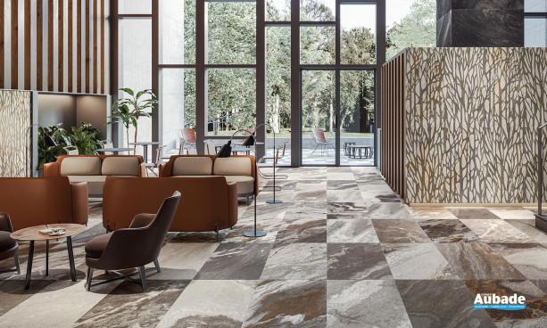 Collection Evoluta par Ceramiche Piemme en coloris Cosmopolitan et décor Forest