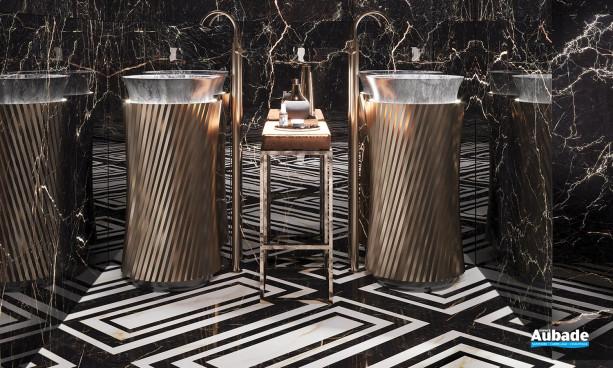 Collection Golden Pure par Cerdisa en coloris Saint Laurent et en décor Black Luxury