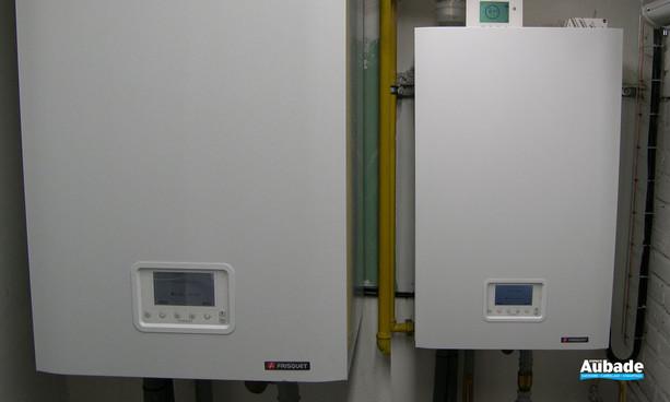 Chaufferie murale Condensation Visio de 57 à 270 kW