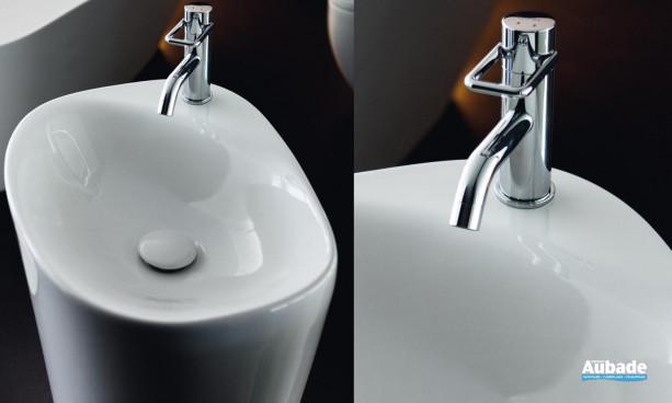 lavabo Menhir collection Palomba de Laufen