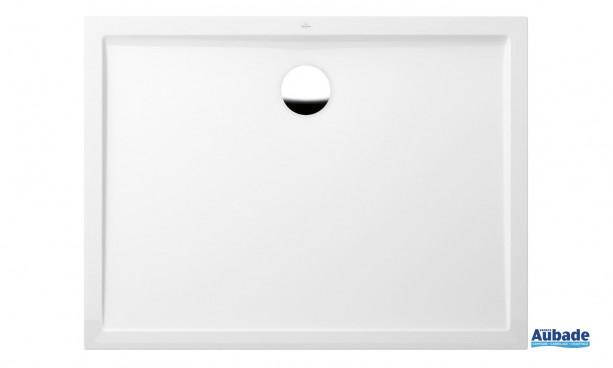Receveur carré quaryl ultra plat de VIlleroy et Boch
