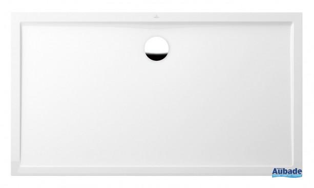 Receveur rectangulaire quaryl ultra plat de VIlleroy et Boch
