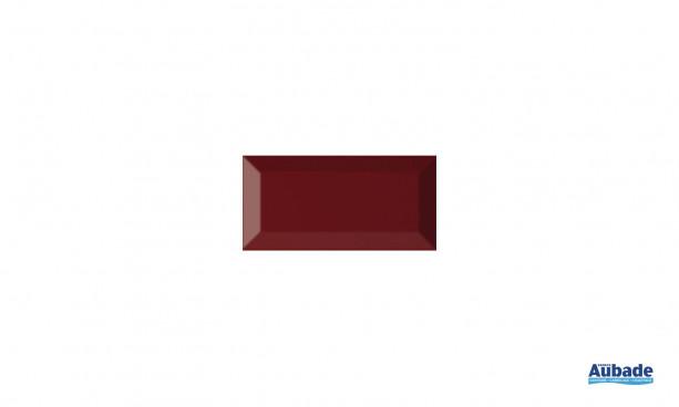 Carrelage Faïence Carometro coloris marron brillant