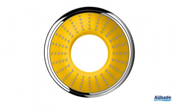 Douchette à main Rainshower Water Colors Collection de Grohe coloris jaune