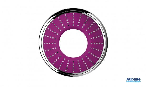 Douchette à main Rainshower Water Colors Collection de Grohe coloris violet