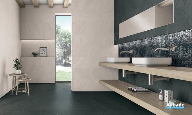 Collection Slatestone par Ibero en coloris Black