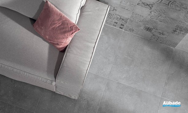 Collection Betonico par Lasselsberger en coloris Grey