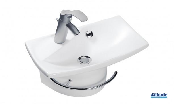 Lave-mains avec porte-serviettes Escale de Jacob Delafon