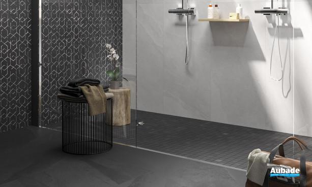 Collection Ashima par Leonardo en coloris Blanc, Noir et décor Noir