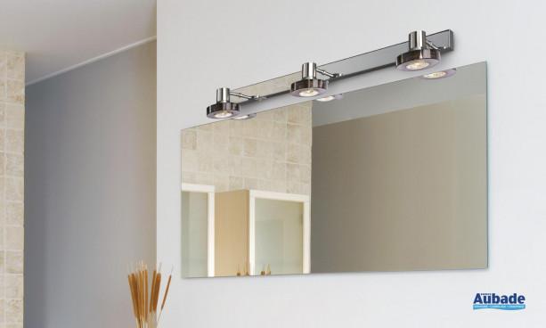 Triple applique Oslo idéal pour salle de bains