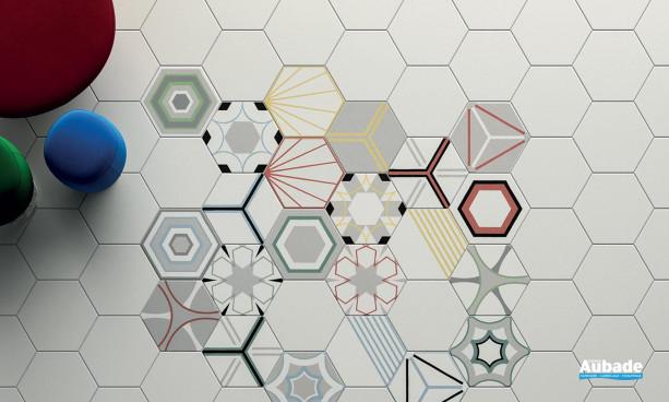 Collection Paprica par Marca Corona en coloris Bianco et décor Pmix Color