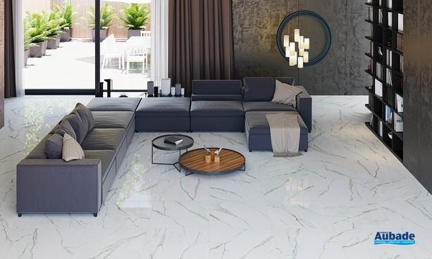 Collection Marbleous par Metropol en coloris White