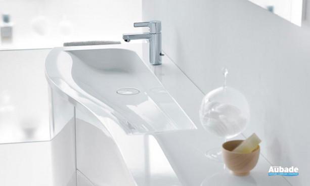 Mobilier de salle de bains blanc Sinéa de Burgbad