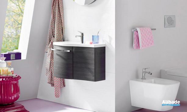 Collection mobilier de salle de bains Sinéa