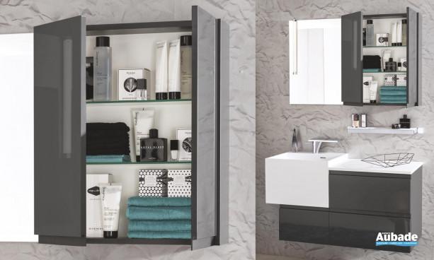 Armoire de toilette Unique Roc et Pure Delpha