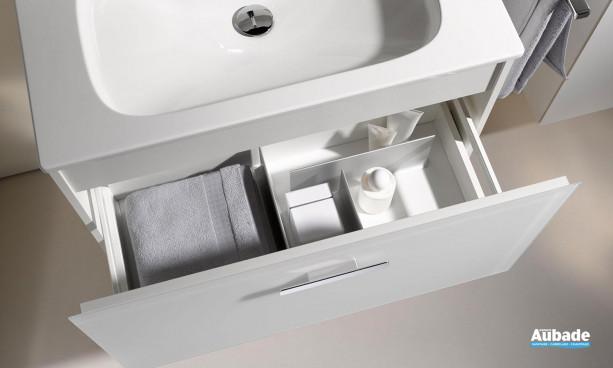 meuble salle de bains keuco royal 60 tiroir très fonctionnel