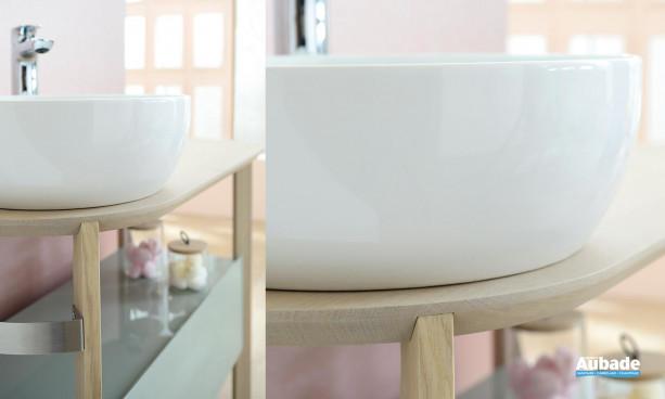 Vasque blanche Sacha de Sanijura