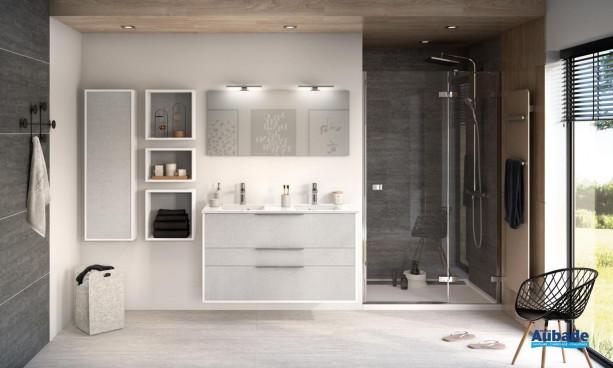 Meuble de salle de bains Ultra Cadra 3 coulissants de Delpha