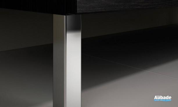 Pieds pour meuble de salle de bains Delpha Proceram 124 cm