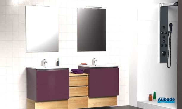 Meubles de salle de bains Modulo de Lido - Myrtille Sonoma
