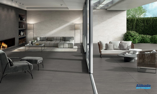 Collection Norgestone par Novabell en coloris Dark Grey et Ivory
