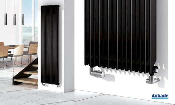 Radiateur chauffage central Chorus Rythmic de Finimetal transparent et modulable